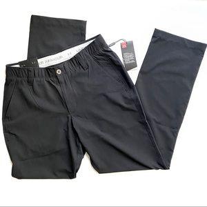 Men's Black Under Armour Golf Pants
